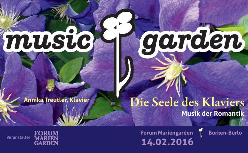music!garden: Das erste Konzert des Jahres