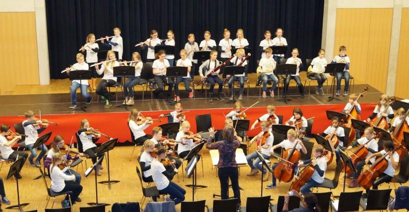 Weihnachtskonzert der Orchesterkurse