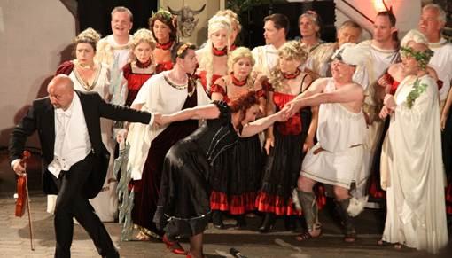 """Orpheus in der Unterwelt in """"music!garden"""""""