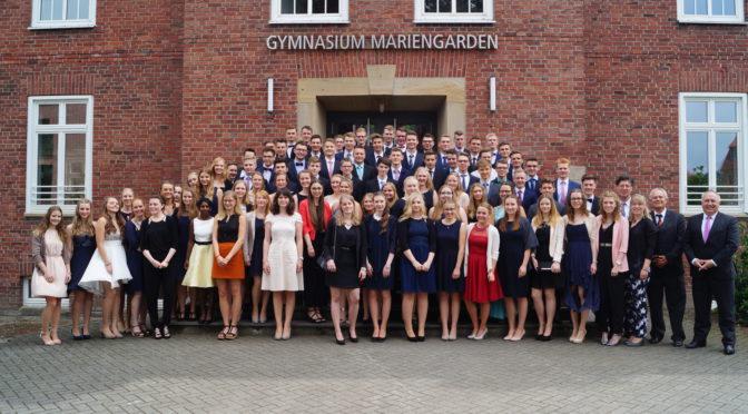 Abiturfeier am Gymnasium Mariengarden