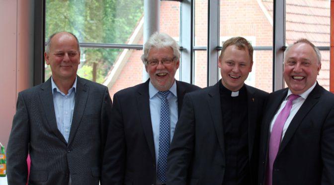 Ehemaliger Schüler zum Priester geweiht