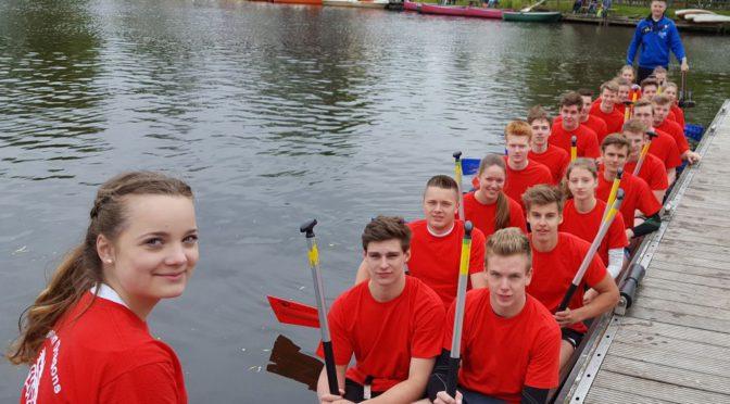 Sparkassen Dragons erkämpfen zum 4. Mal den Drachenboot-Pokal