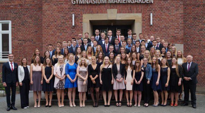 Entlassung des Abiturjahrgangs 2017