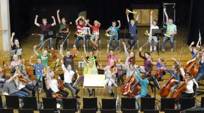 Probentag der Orchesterkurse