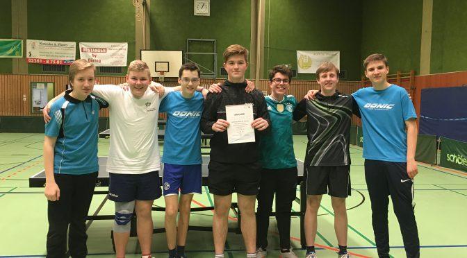 Erfolg beim Tischtennis