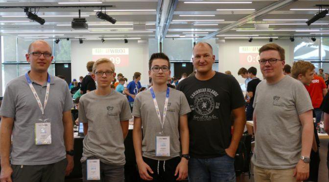 Teilnahme an der World Robot Olympiad