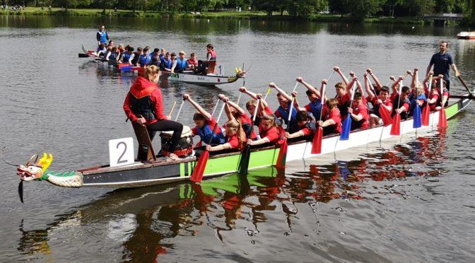 Doppelerfolg beim Drachenboot-Cup