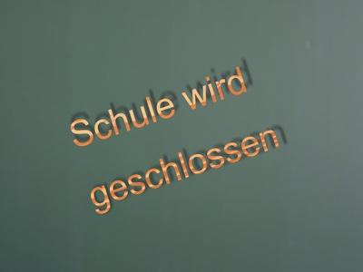 Schulschließung  in NRW