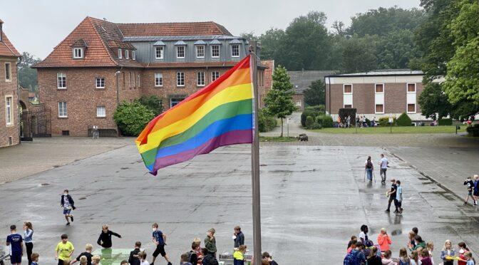 Aktion im Pride Month