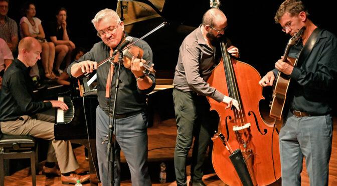 Internationales Jazz-Quartett in Burlo